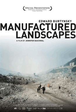 Poster for Manufactured Landscapes