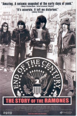 Poster for End of the Century: The Story of the Ramones