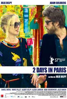 Poster for 2 Days in Paris