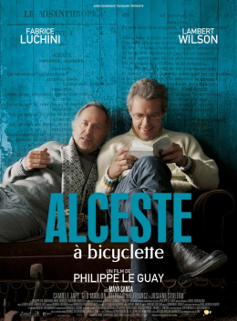 Poster for Alceste à bicyclette (Cycling with Molière)