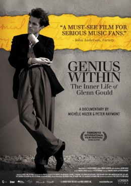 Poster for Genius Within: The Inner Life of Glenn Gould