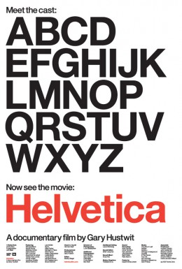 Poster for Helvetica