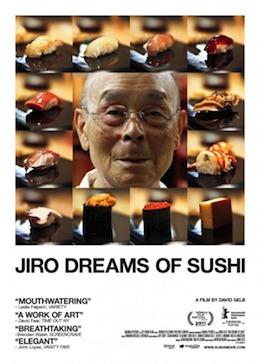 Poster for Jiro Dreams of Sushi