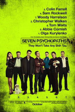 Poster for Seven Psycopaths