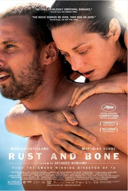 Poster for De rouille et d'os (Rust and Bone)