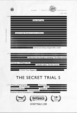 Poster for The Secret Trial 5