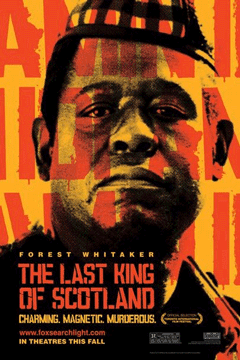 Poster for The Last King of Scotland