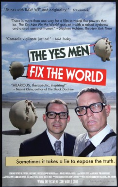 Poster for The Yes Men Fix the World