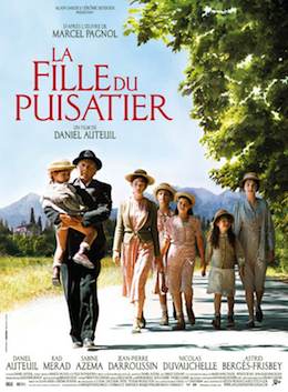 Poster for La fille du puisatier (The Well Digger's Daughter)