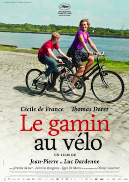Poster for Le gamin au vélo (The Kid with a Bike)