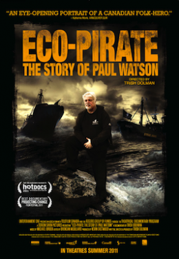 Poster for Eco-Pirate: The Story of Paul Watson