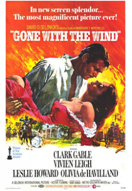 Poster for Gone with the Wind