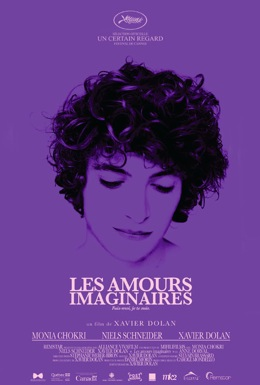 Poster for Les amours imaginaires (Heartbeats)