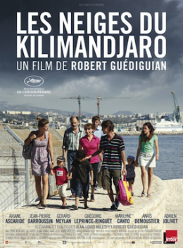 Poster for Les neiges du Kilimandjaro (The Snows of Kilimanjaro)