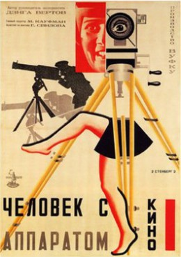Poster for Man with a Movie Camera