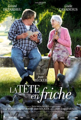 Poster for La tête en friche (My Afternoons with Margueritte)