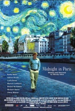 Poster for Midnight in Paris