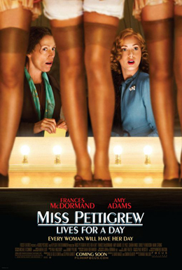 Poster for Miss Pettigrew Lives for A Day