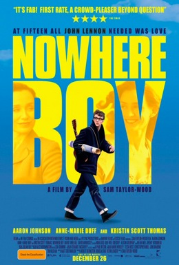 Poster for Nowhere Boy