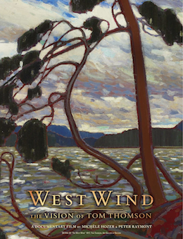 Poster for West Wind: The Vision of Tom Thomson