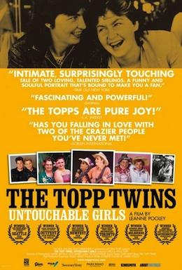 Poster for The Topp Twins: Untouchable Girls