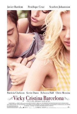 Poster for Vicky Cristina Barcelona