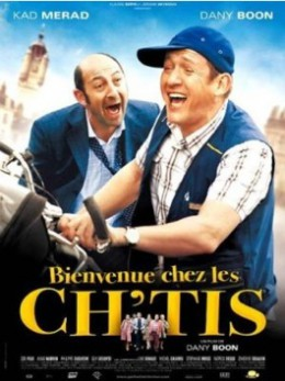Poster for Bienvenue Chez les Ch'tis (Welcome to the Sticks)