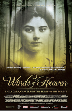 Poster for Winds of Heaven: Emily Carr, Carvers And The Spirit Of The Forest